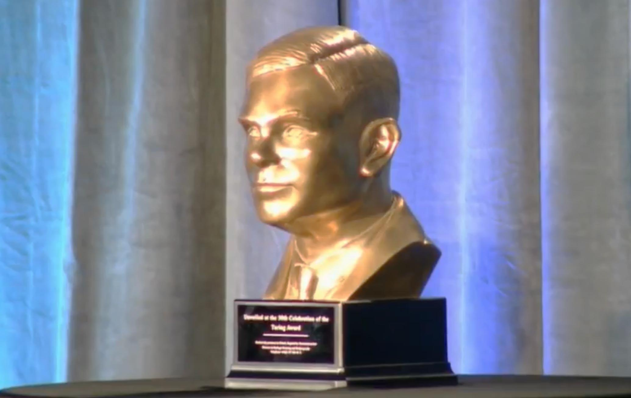 The A.M. Turing Award is the top prize in the computer science field.