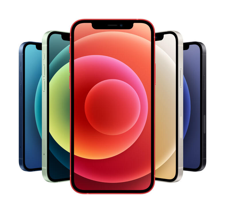 iPhone 12 color colors lineup
