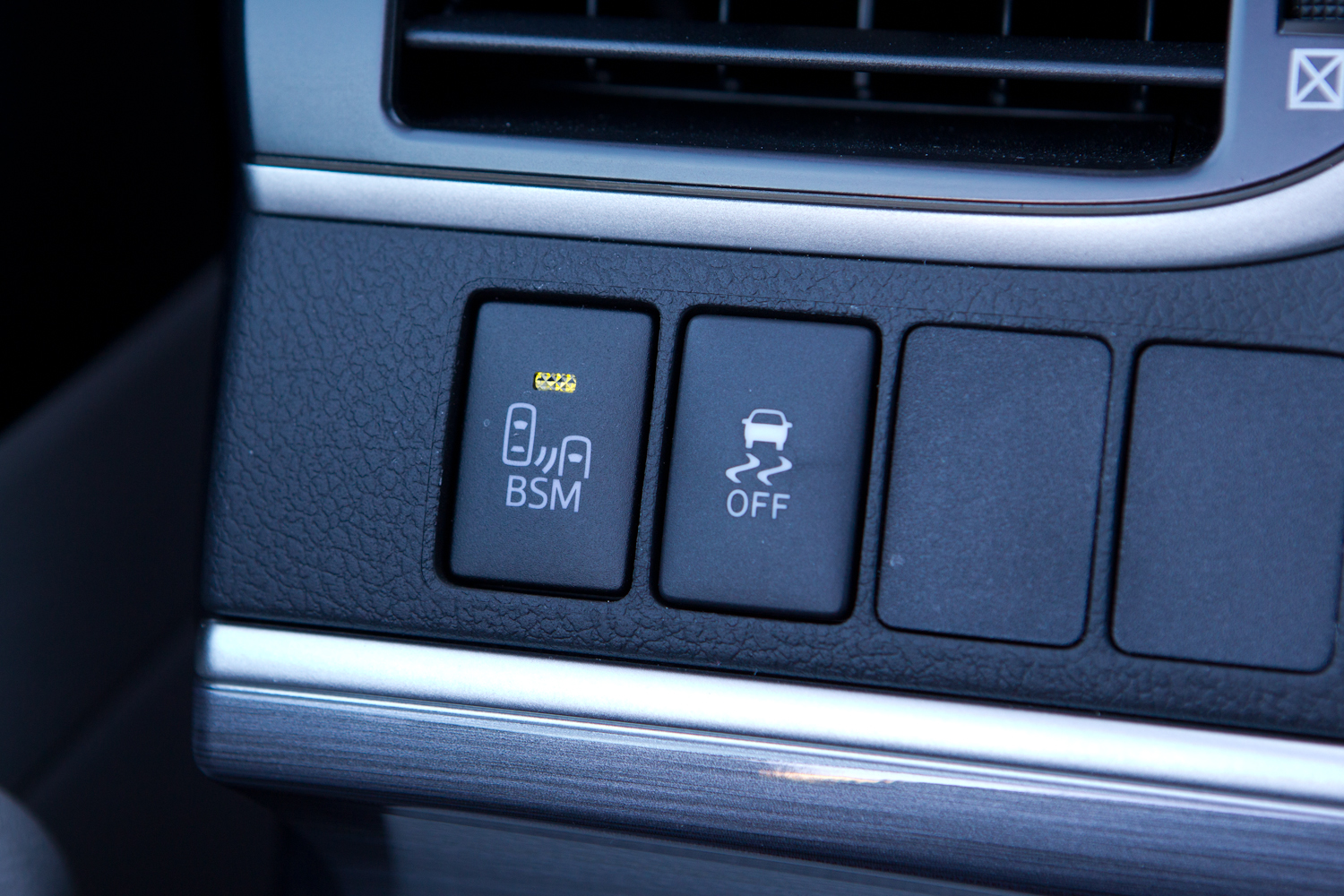 Blind Spot Monitor toggle