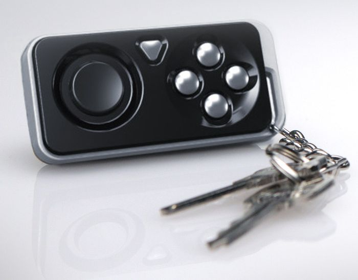 Unlike most wireless game controllers currently in development, the iMpulse is small enough to ride shotgun on your keychain.