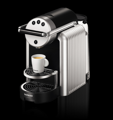 The Nespresso Zenius knows when you need more coffee -- and then orders it.