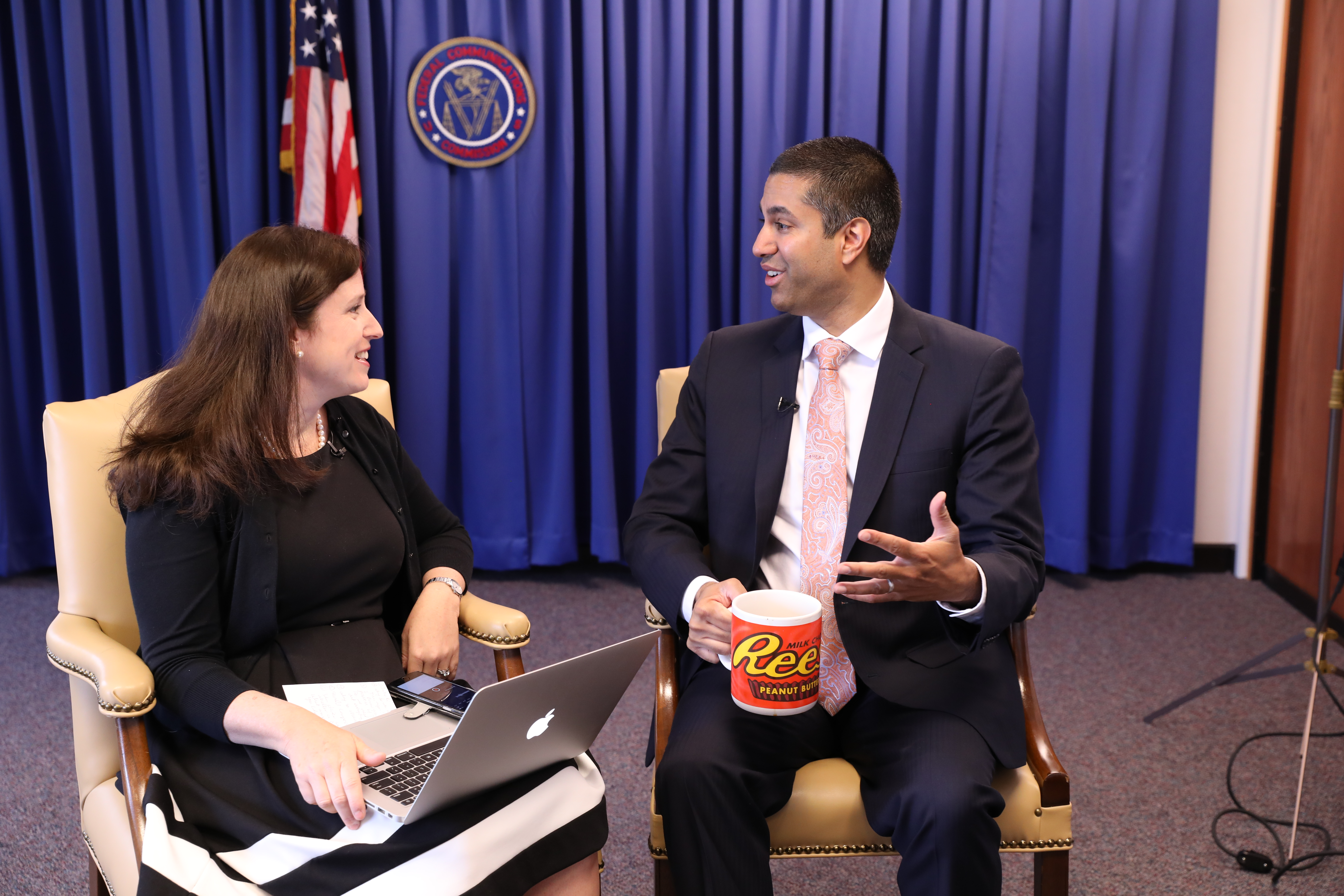 FCC Chairman Ajit Pai sat down with CNET's Maggie Reardon to talk about his proposal to revisit the agency's net neutrality regulations.