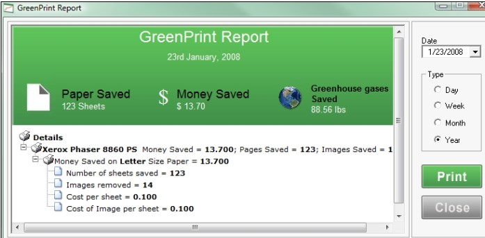 How green are your printing habits?