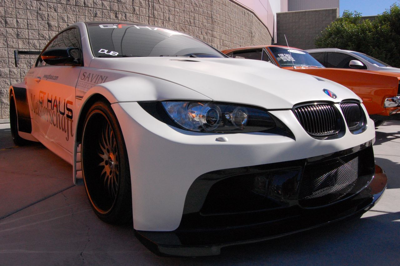 widebody BMW M3 coupe