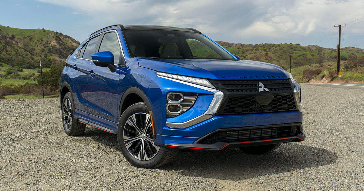 2022 Mitsubishi Eclipse Cross first drive review: Subtly better     - Roadshow