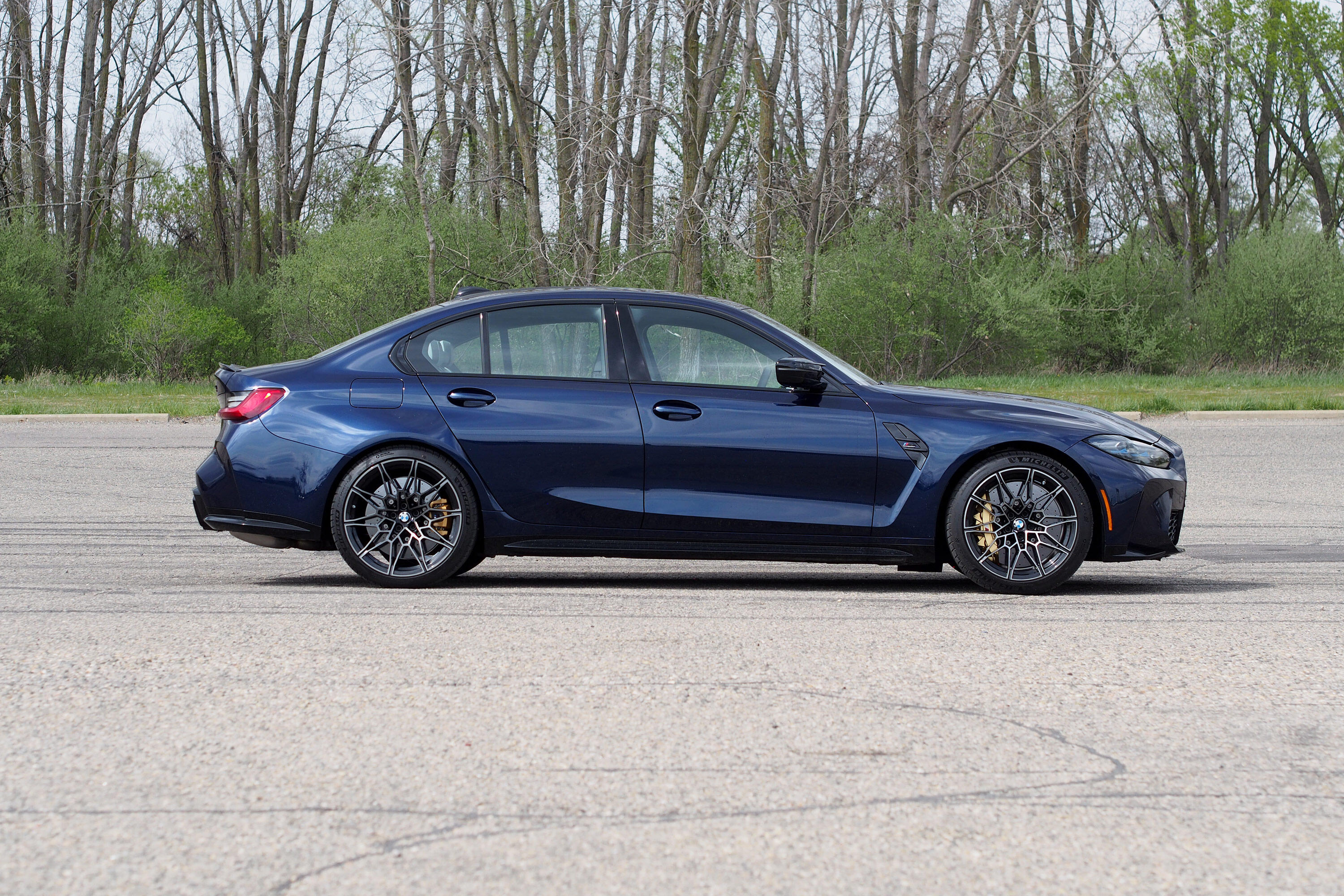 2021 BMW M3 Competition - profile
