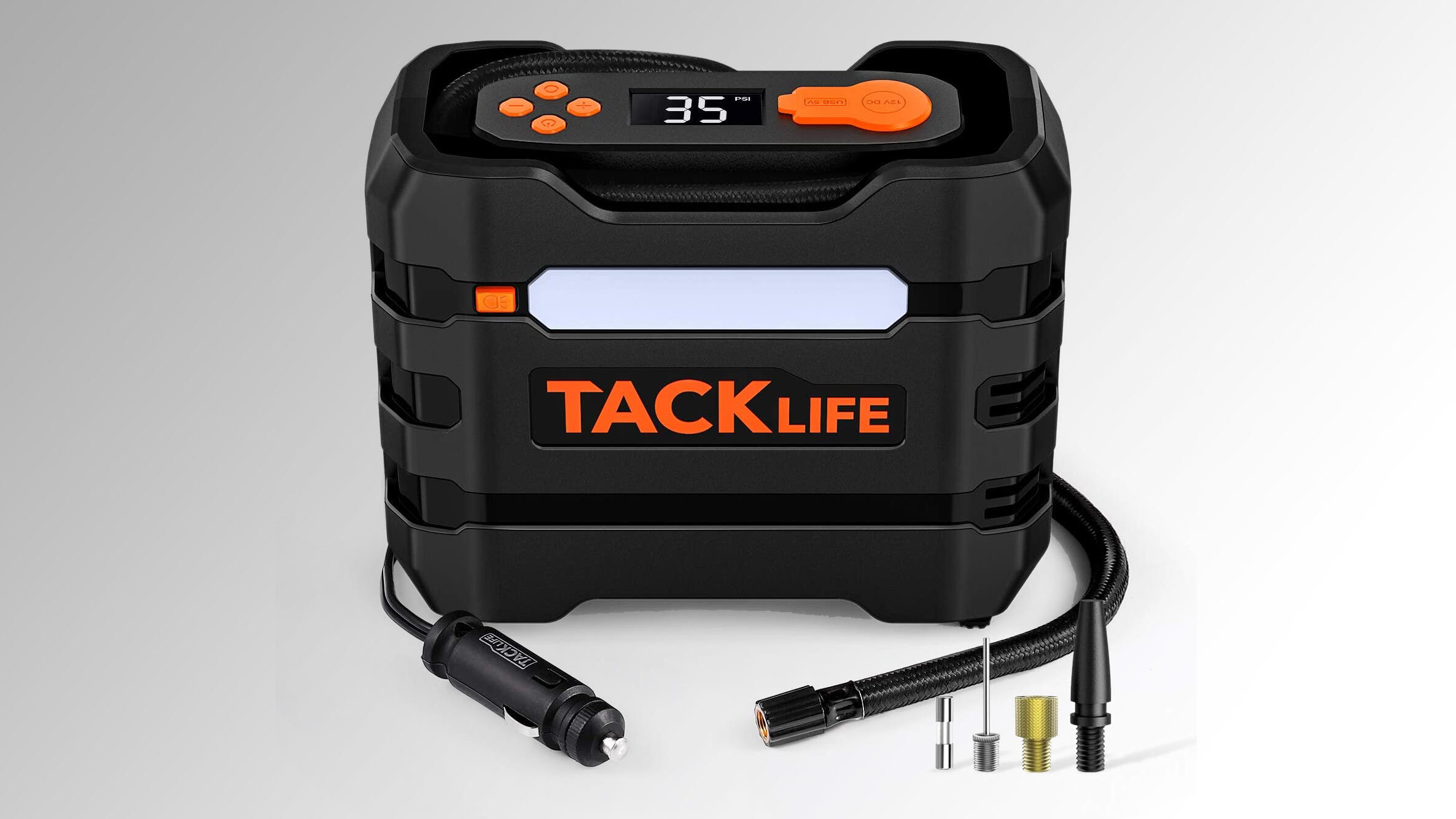 Inflate flat tires in under 5 minutes with this Tacklife air compressor for $16 - CNET