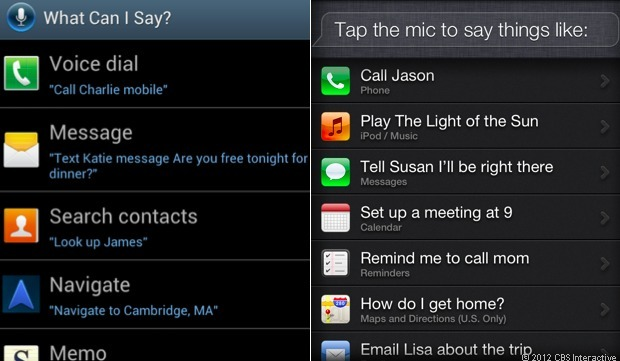 Samsung's S Voice assistant takes on Apple's Siri