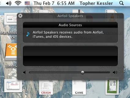 AirFoil in OS X