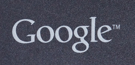 Google's logo is common on search, but the company is spreading it to mobile phones as well.