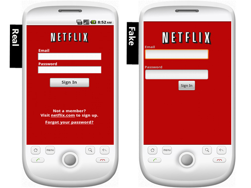 People were so happy to see any Netflix app, they cheerfully downloaded a Trojan.