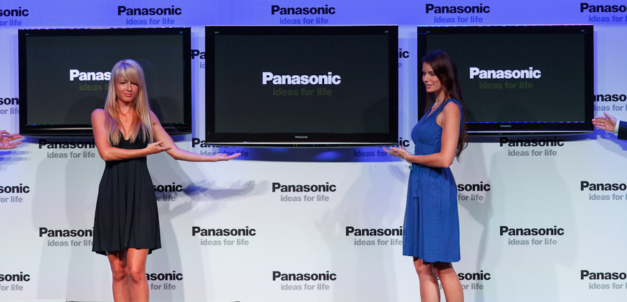 Panasonic's two new VT20 TVs have 42-inch and 46-inch diagonals.