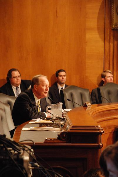 Sen. Lamar Alexander (R-Tenn.), who is finalizing a proposal to force Internet retailers to collect sales taxes.