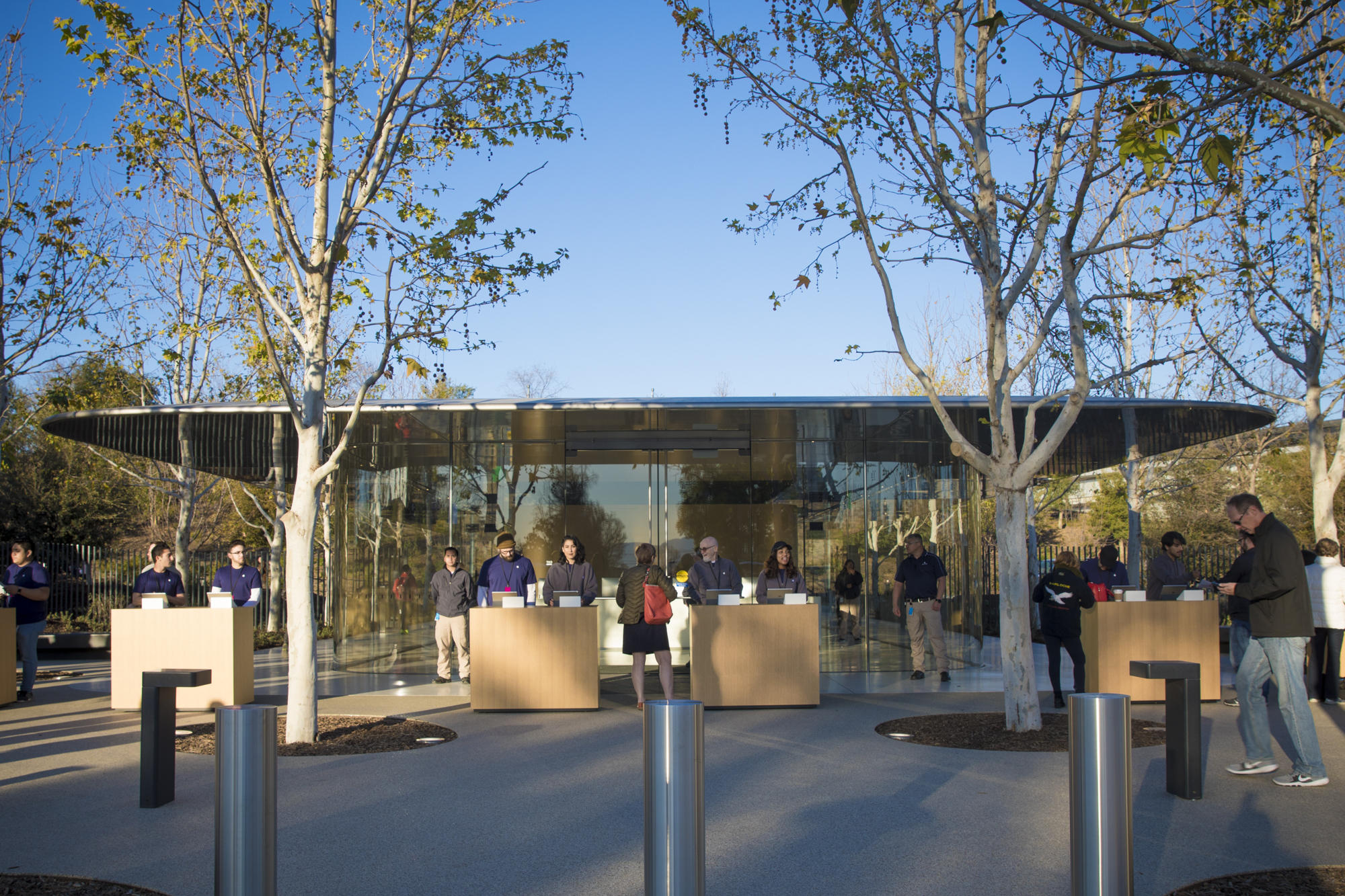Apple's Tuesday shareholder meeting was the first to take place on the company's new Apple Park campus.