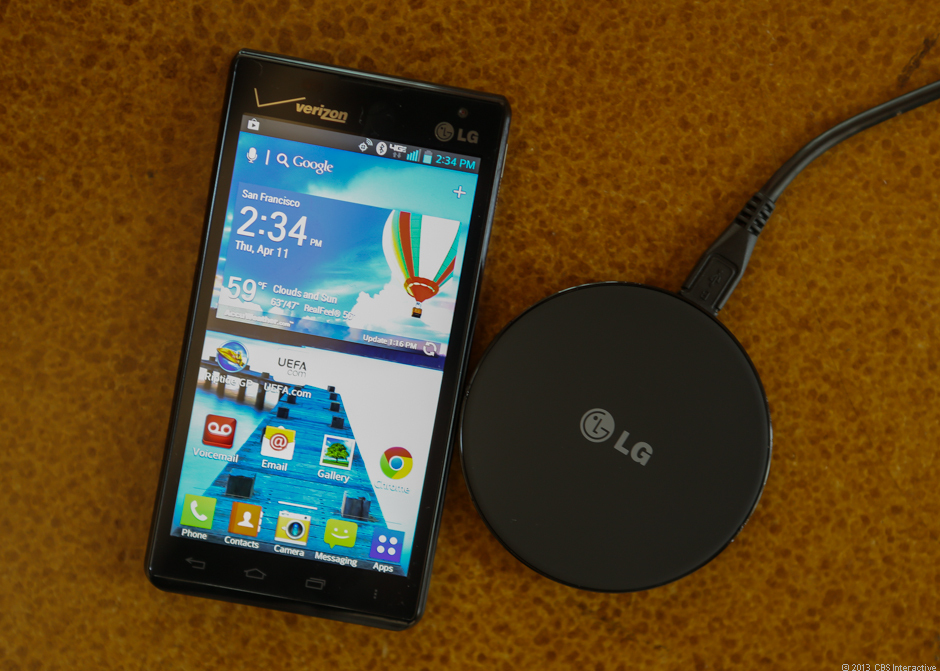 LG Lucid 2 (wireless charger)