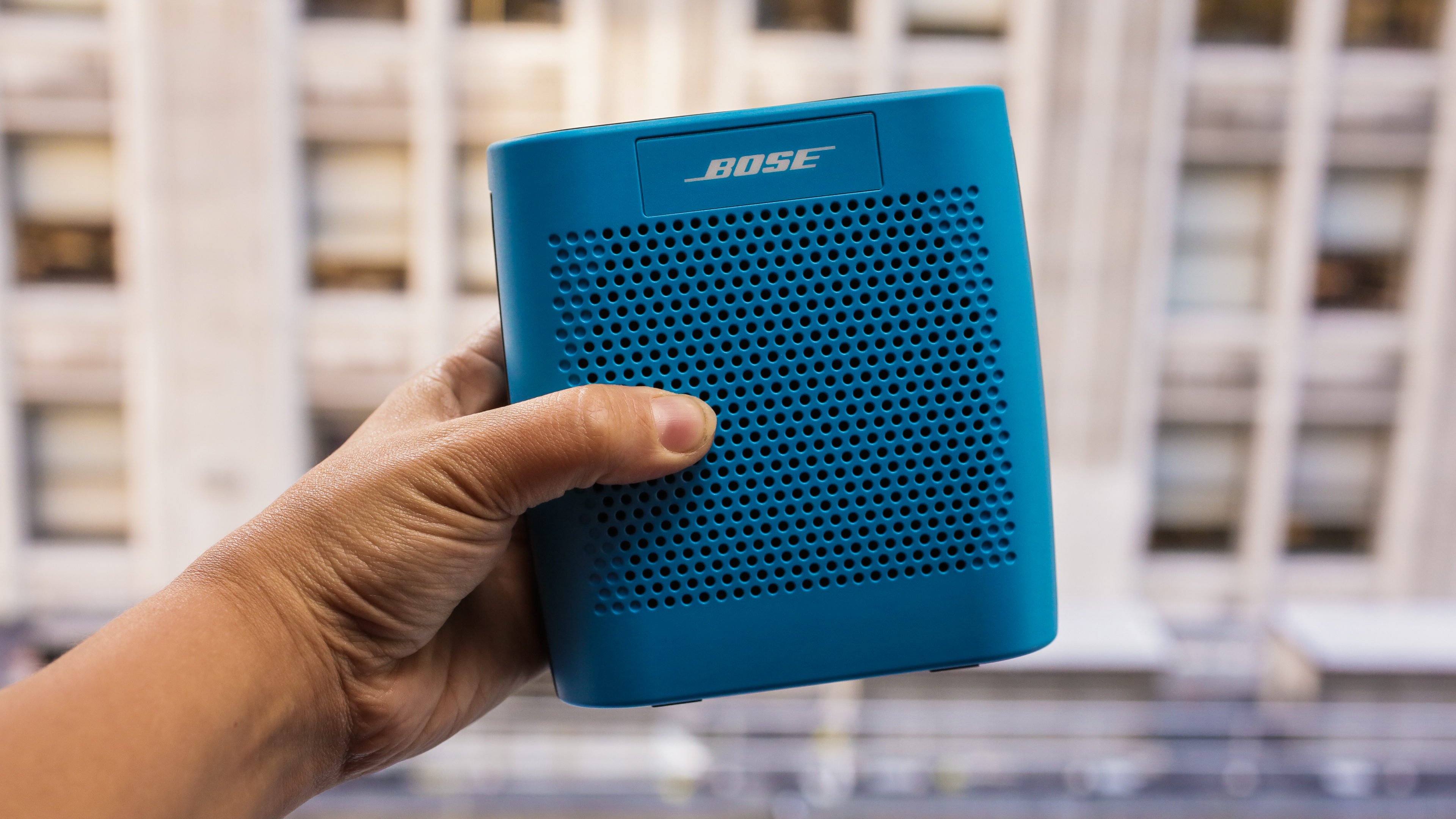 A playful Bluetooth speaker that delivers serious sound for its size