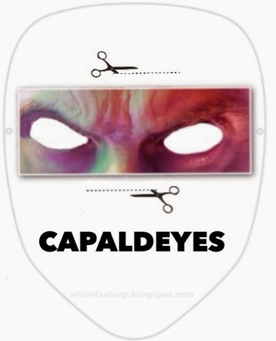 """Print out your own pair of Capaldeyes to watch the new """"Doctor Who."""""""
