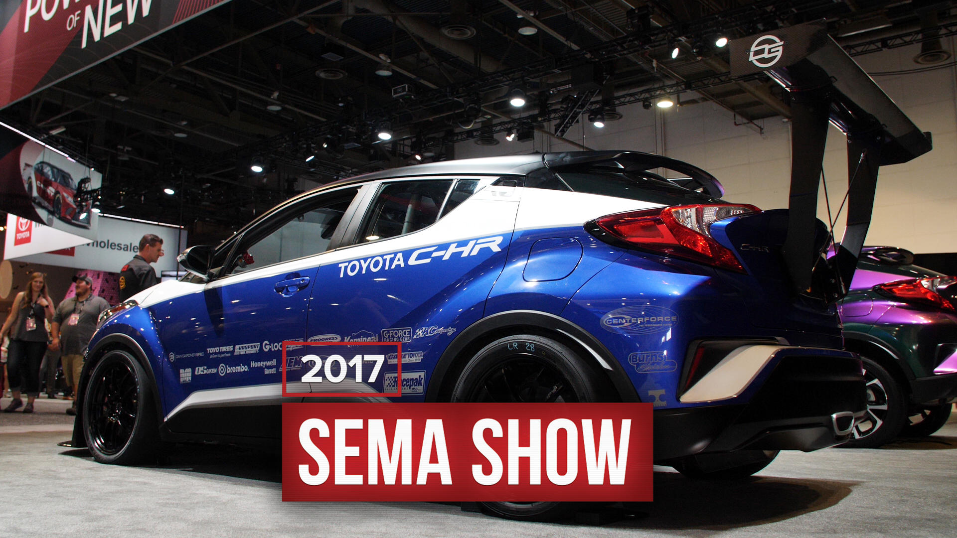 Video: Toyota built a 600-horsepower C-HR for SEMA and it's glorious