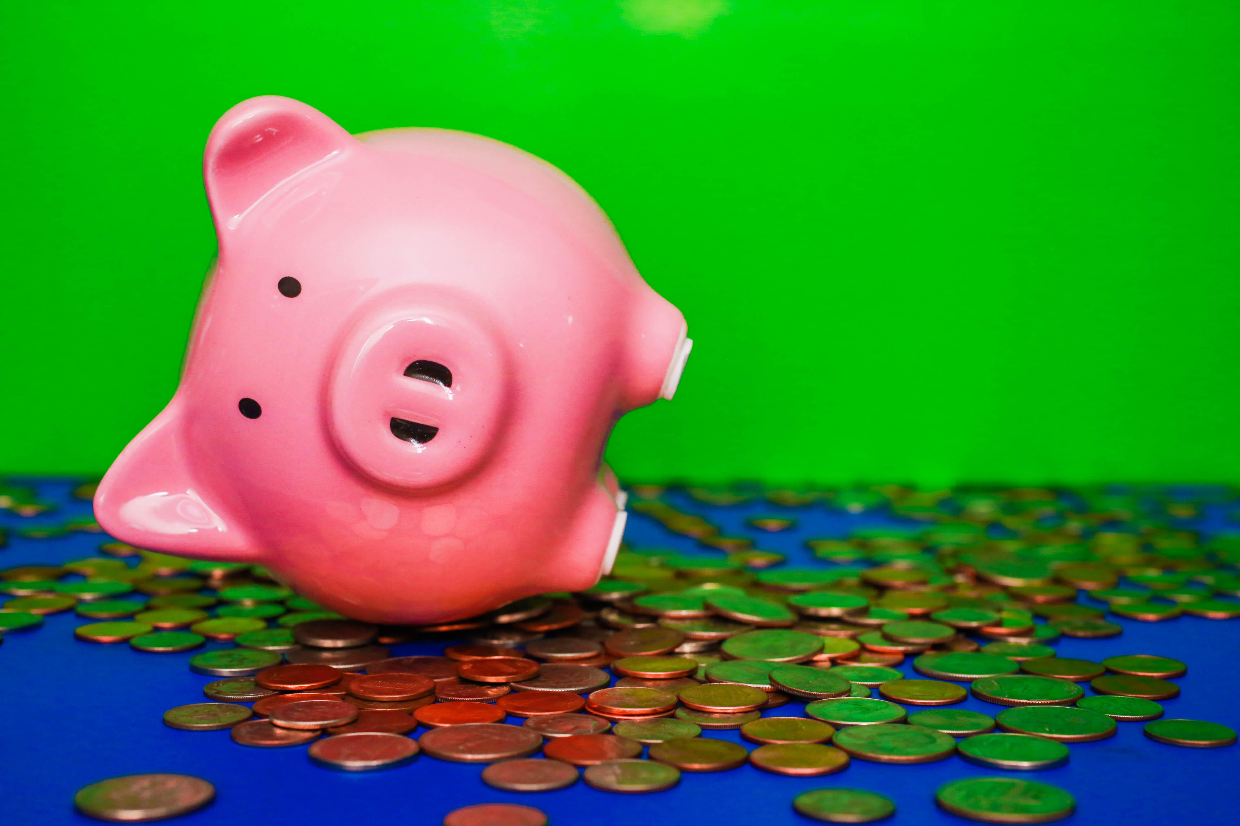 breaking-the-piggy-bank-stimulus-check-cash-money-savings-debt-personal-finance-031