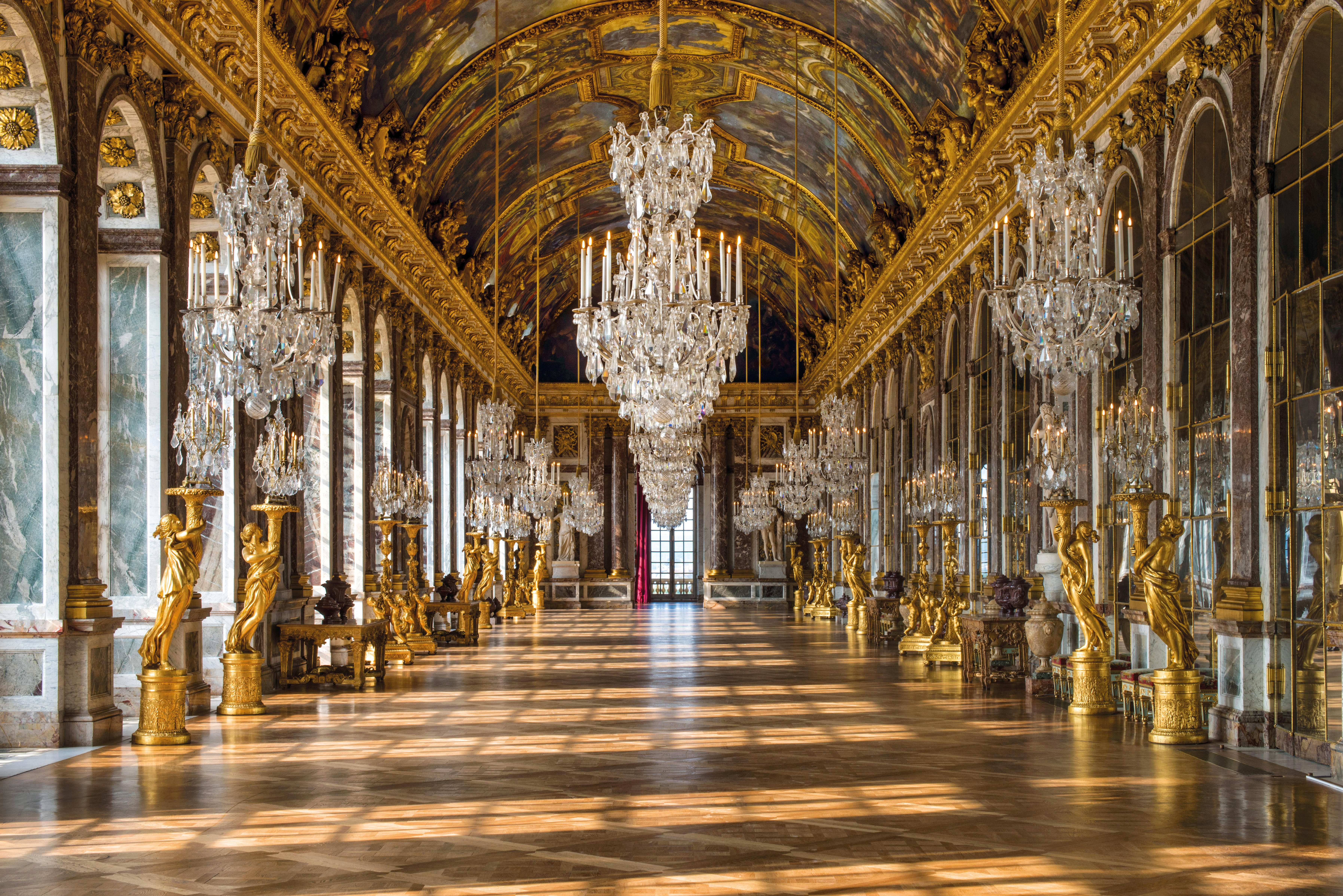The real Hall of Mirrors