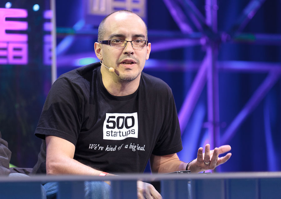 Dave McClure of 500 Startups speaking at LeWeb.