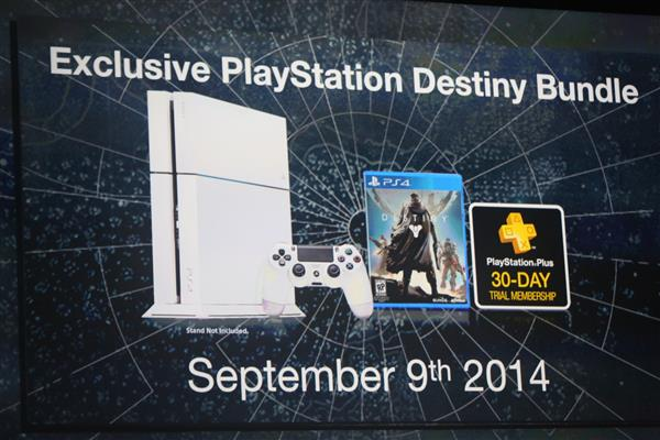 White PS4 coming in September