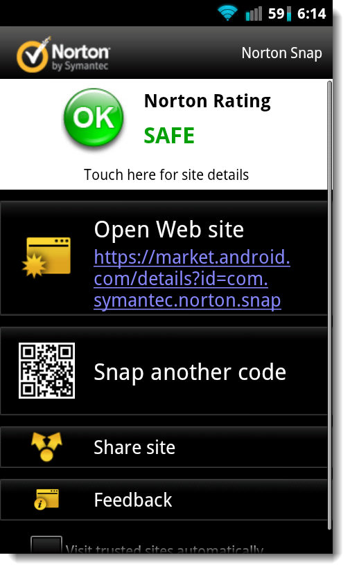 Norton Snap for Android