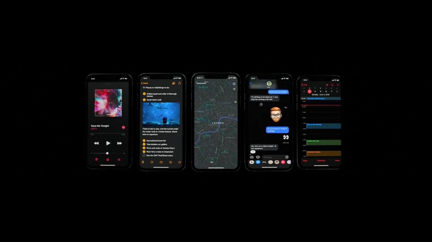 Dark Mode For Iphone Arrives Sept 19 How You Ll Use Apple S New Ios 13 Feature Cnet