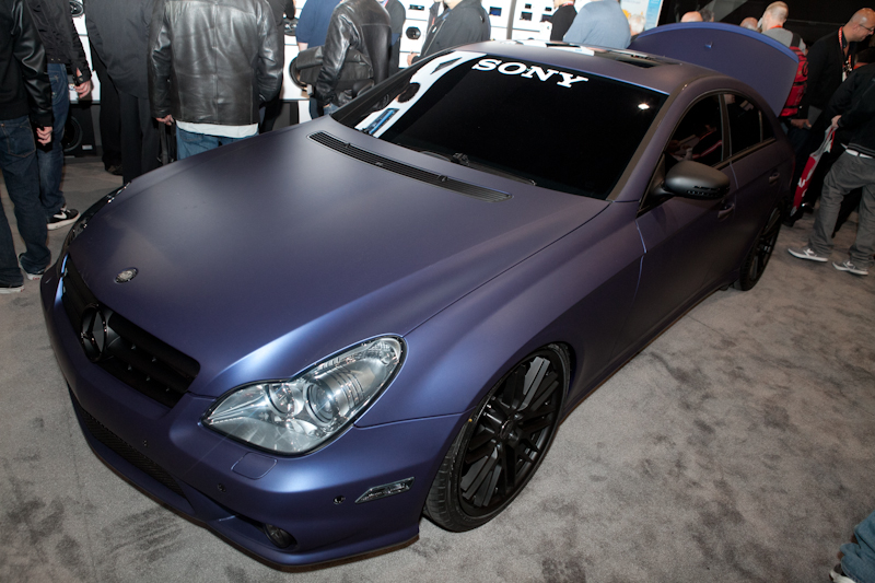 Mercedes-Benz CLS at Sony
