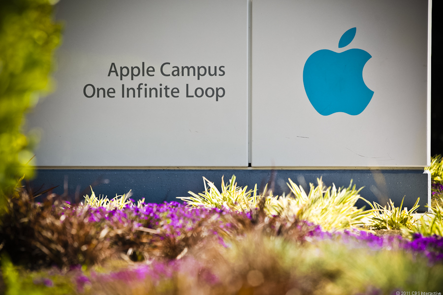 Apple's Cupertino headquarters, where tomorrow's event is happening.