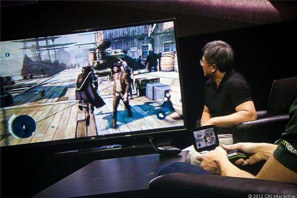 Nvidia Project Shield at CES