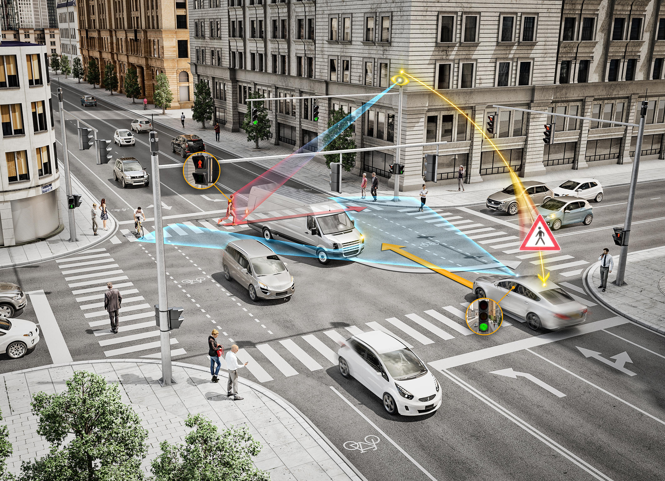 Continental Intelligent Intersection