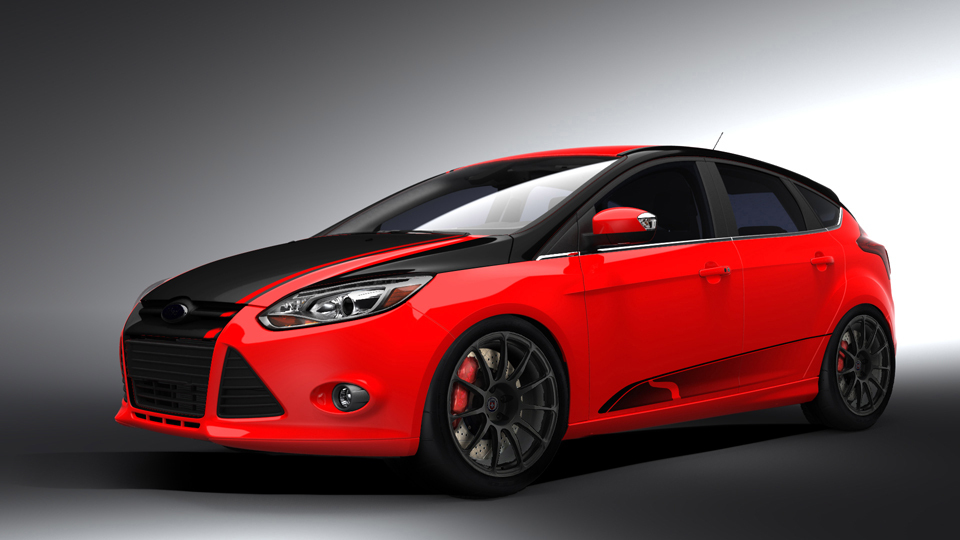 2012 Ford Focus by Steeda