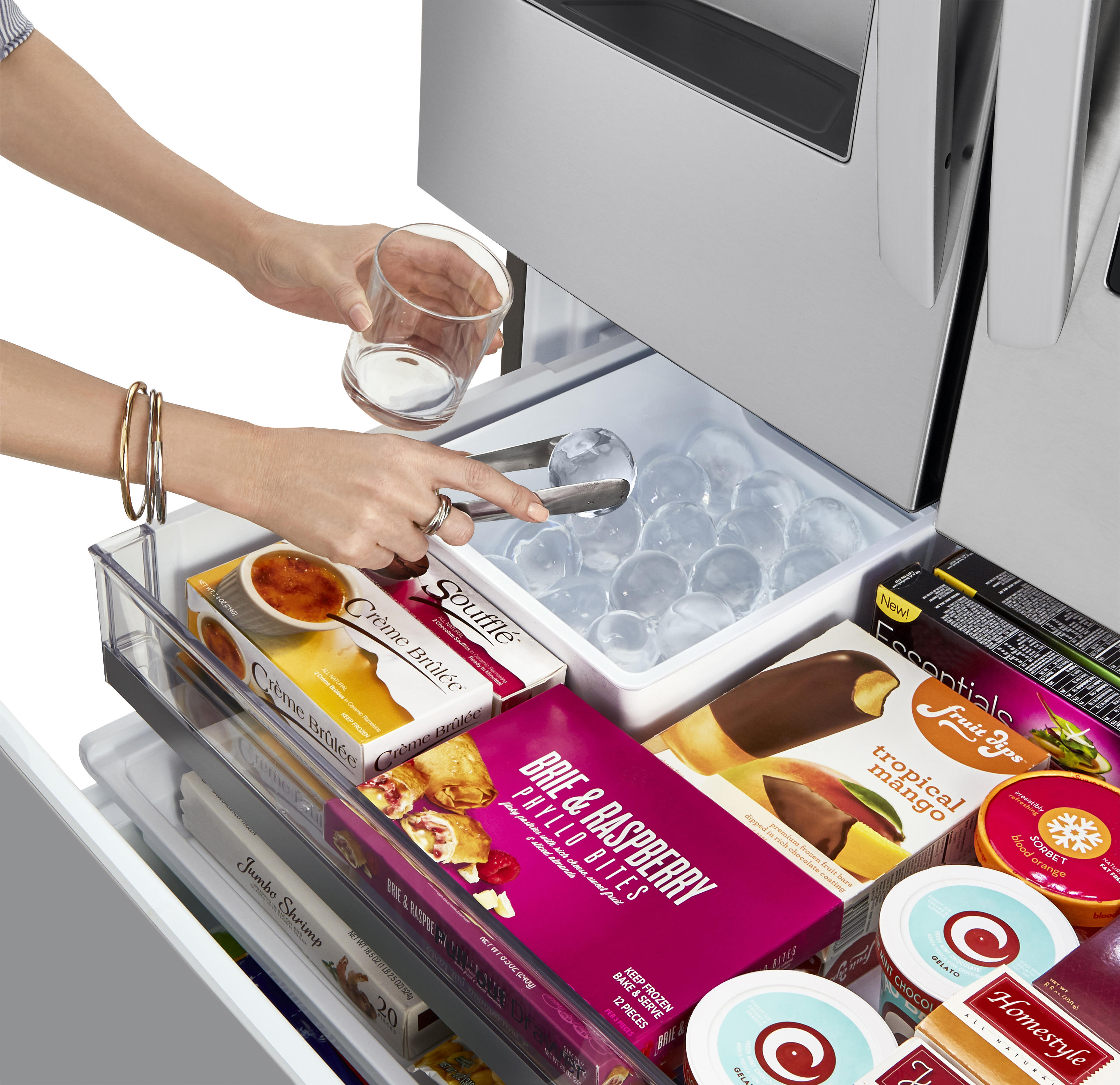 How do you hook up a refrigerator water line to lg 2019