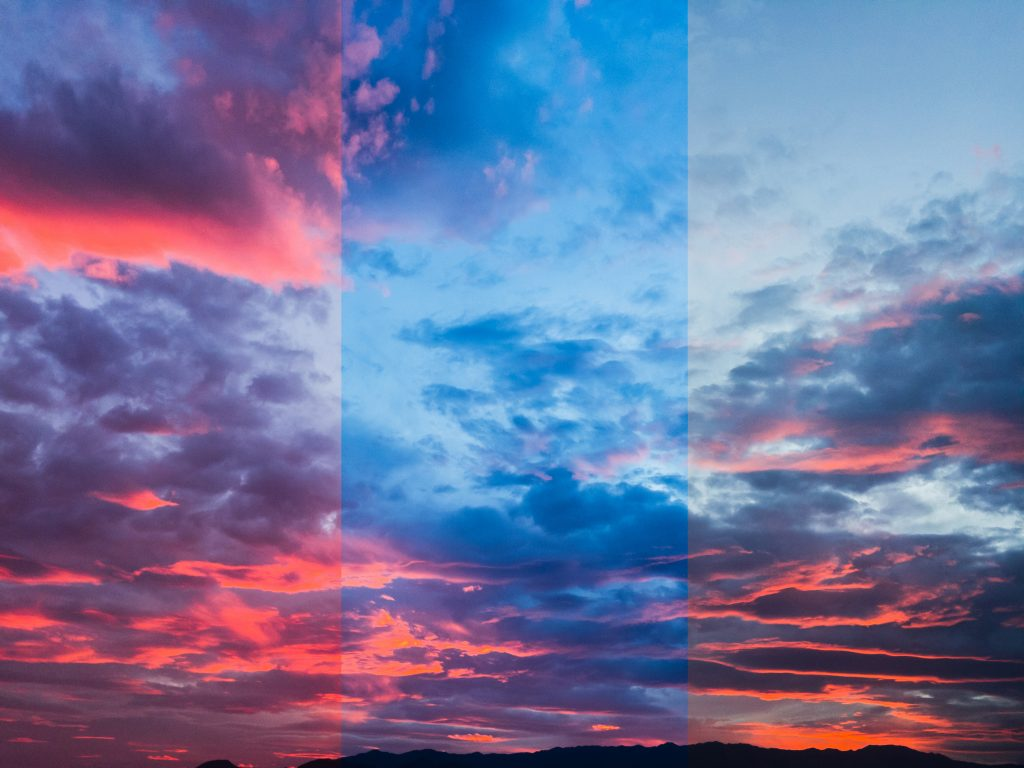 A JPEG locks in the camera's best guess about a scene's colors, but raw photos let you change it.