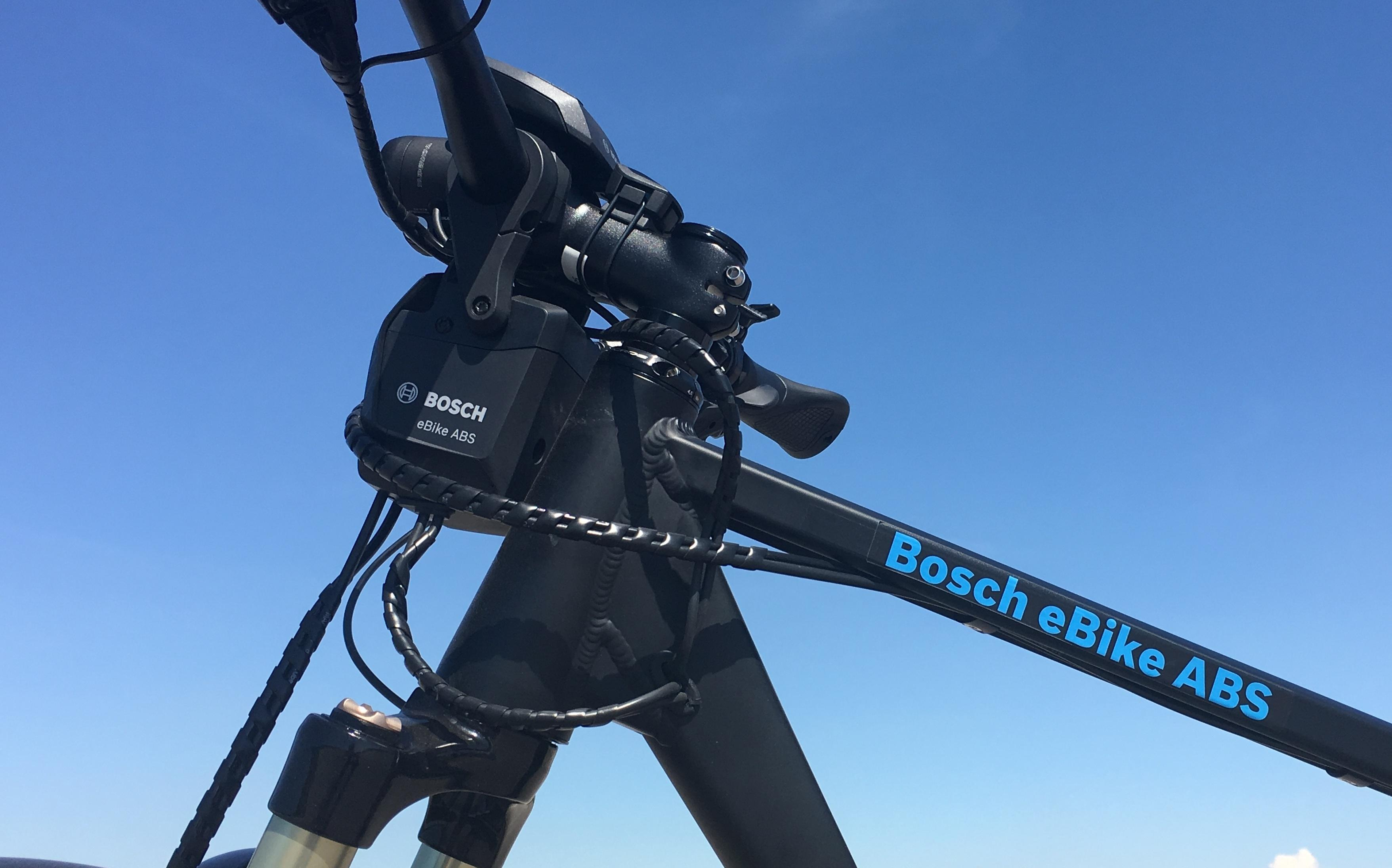 Bosch bicycle ABS