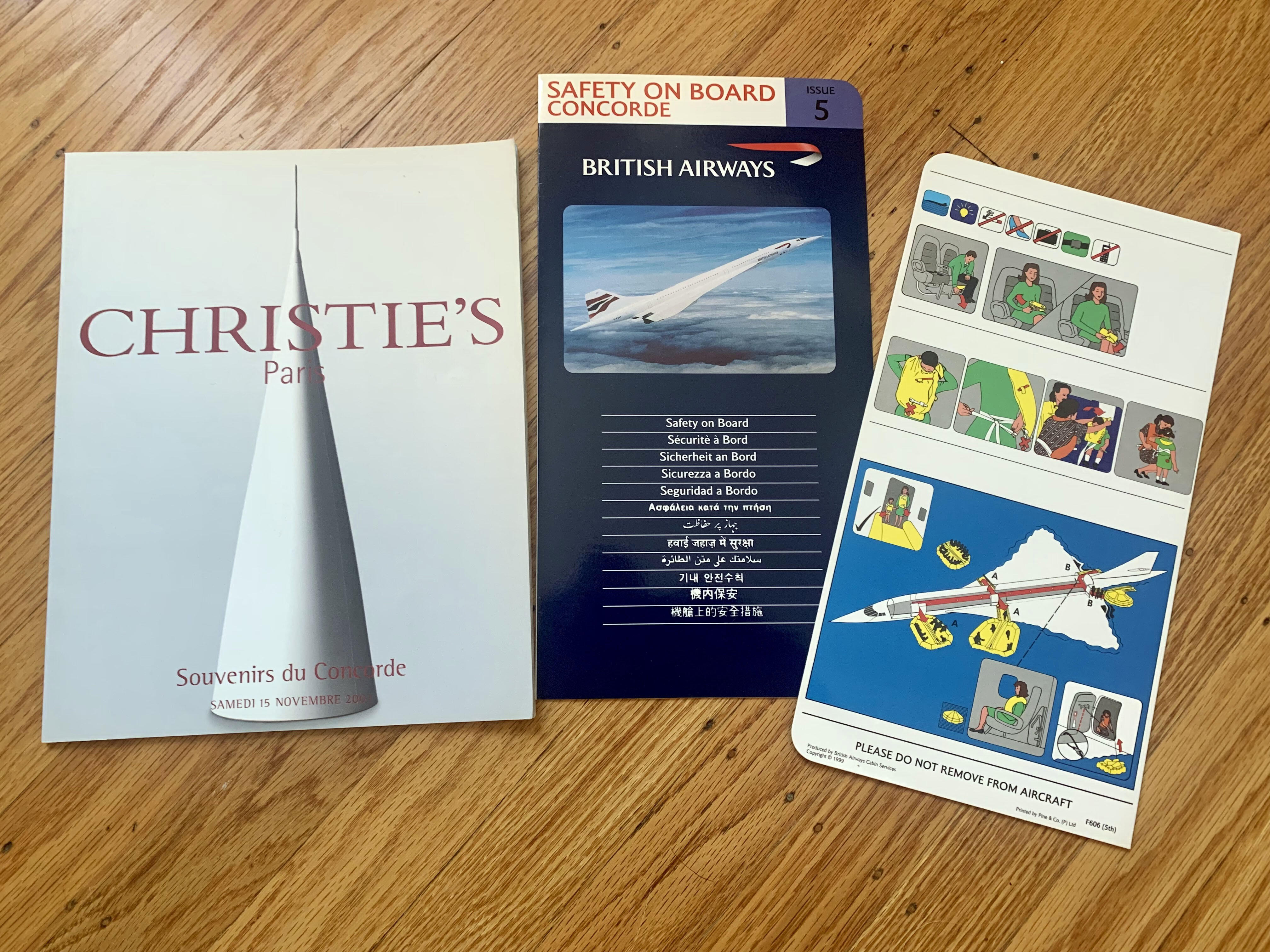 concorde-catalog-and-safety-card
