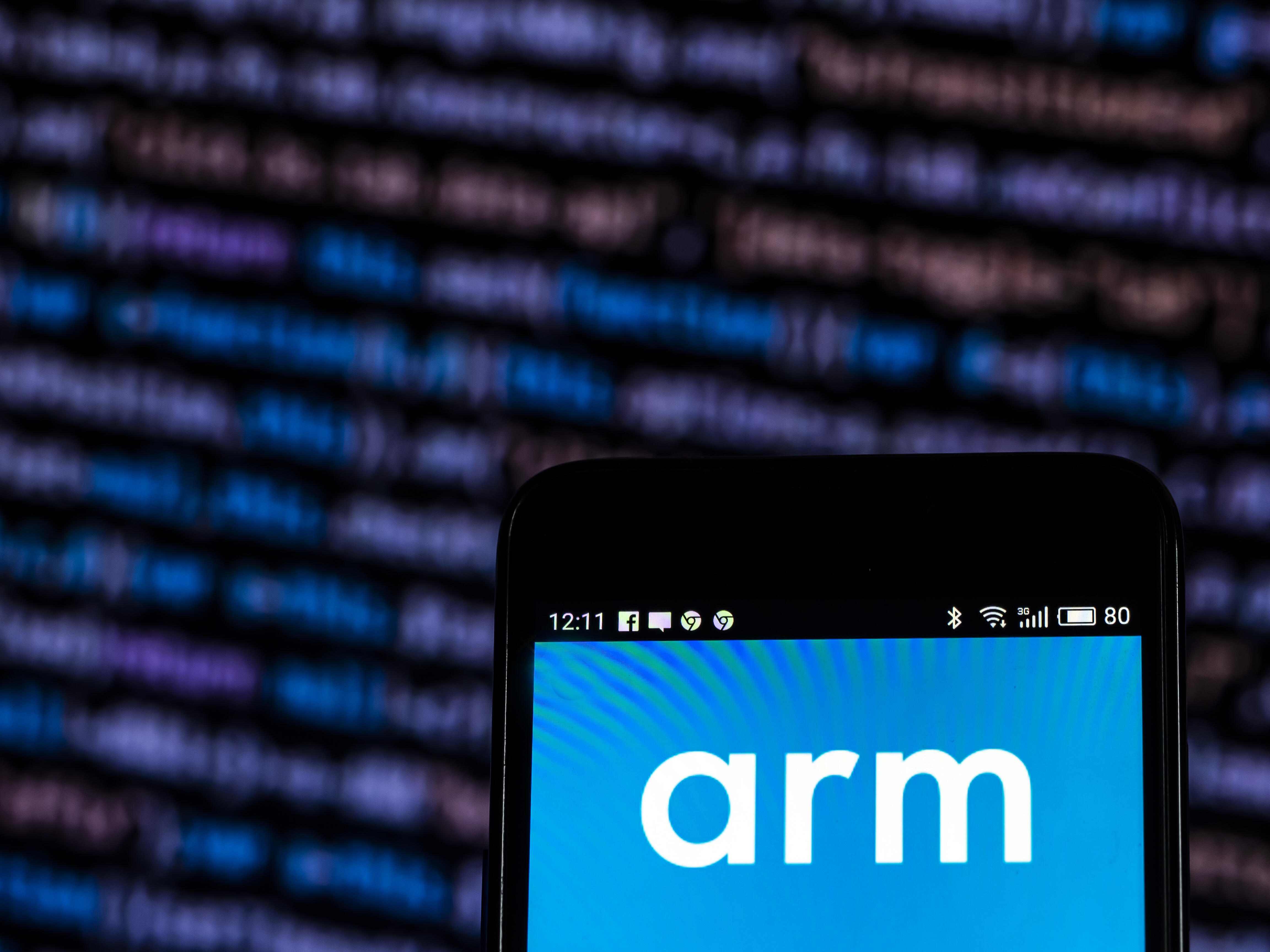 <p>SoftBank is reportedly considering financial options for chip designer Arm Holdings.</p>