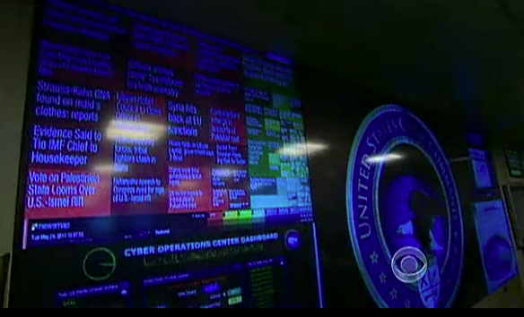 The U.S. Cyber Command was created to organize the nation's response to foreign computer threats.
