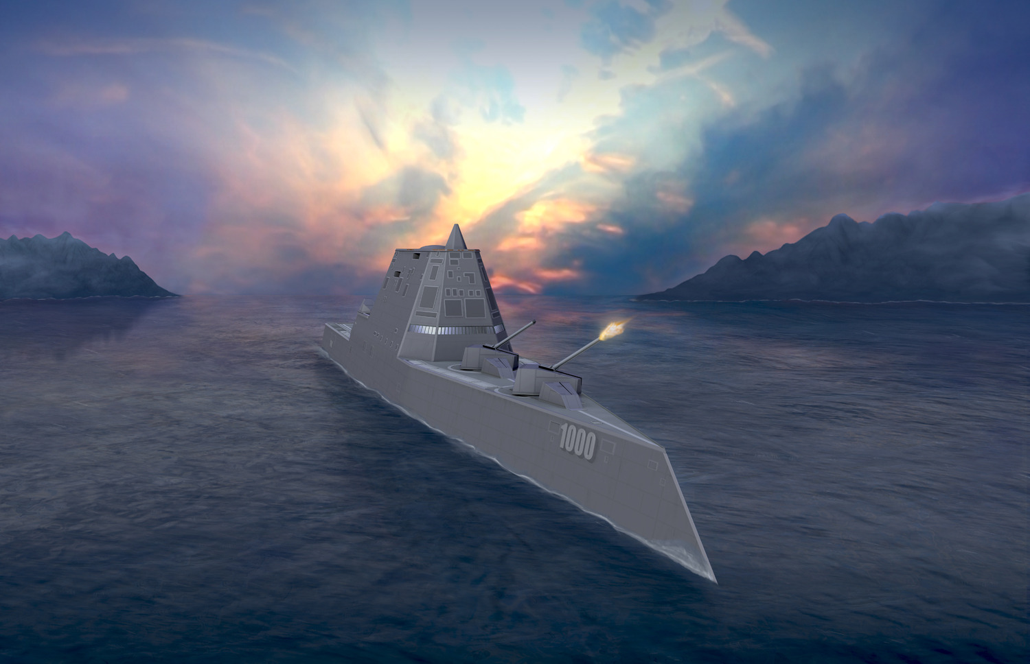 The DDG 1000
