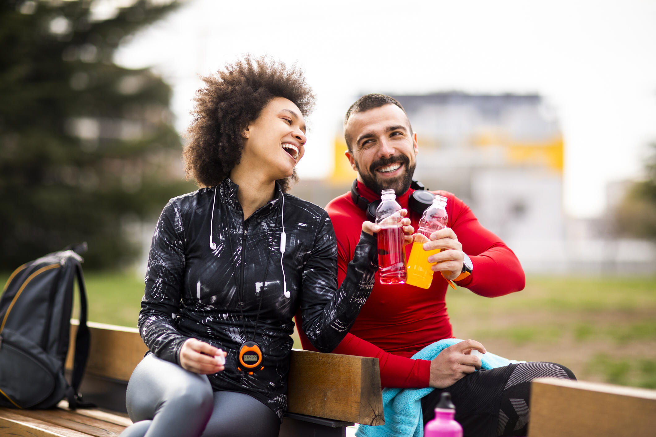 drinking sports drinks after exercise