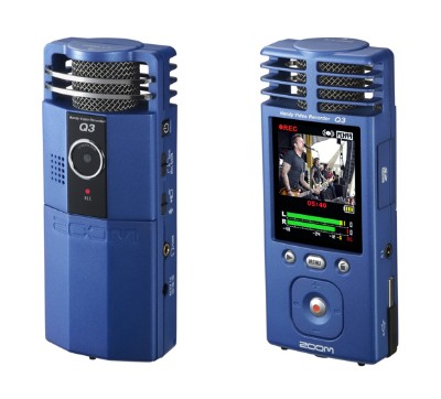 Photo of the Zoom Q3 handy video camera.