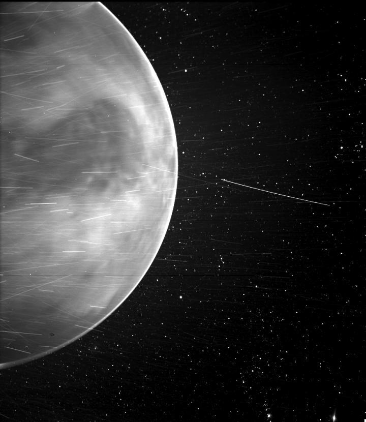 Venus as seen from the Parker Solar Probe