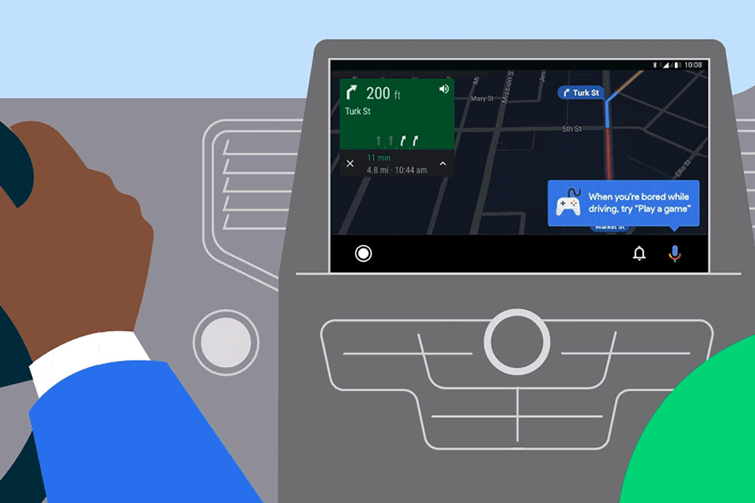 Android Auto Spring 2021 update