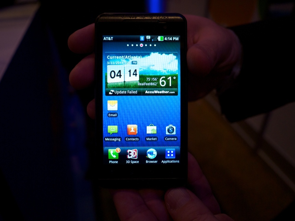The LG Thrill 4G is the Optimus 3D repackaged for AT&T