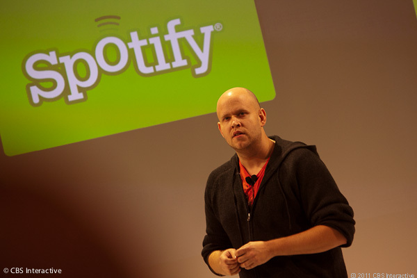 Spotify CEO Daniel Ek might soon have a new competitor in the U.S.