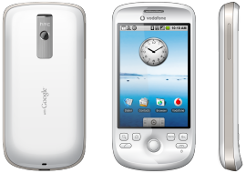 The HTC Magic phone, in this case sold through Vodafone, is coming to Canada via Rogers Wireless.