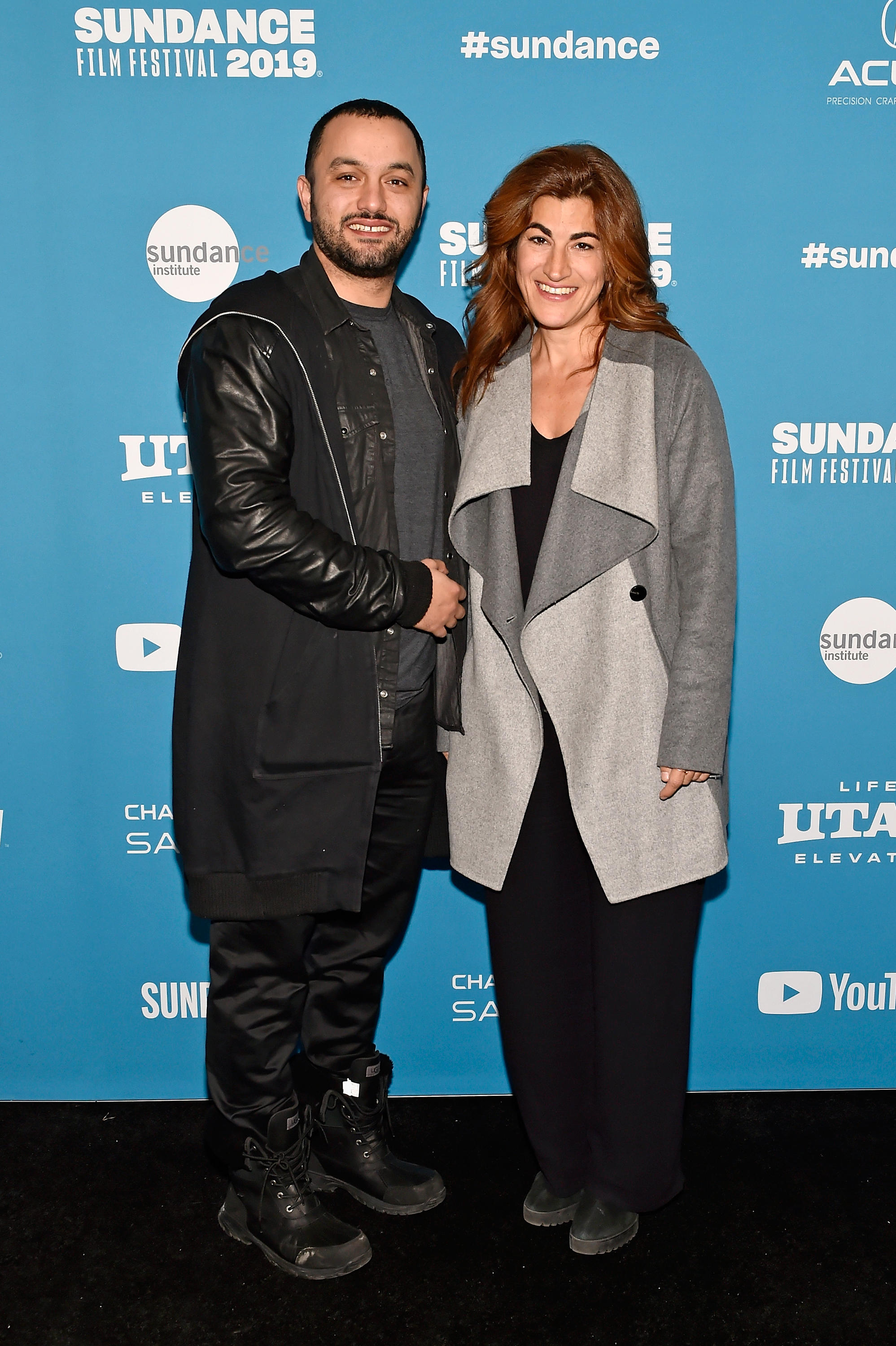 Karim Amer (left) and Jehane Noujaim are directors of the Netflix documentary The Great Hack.