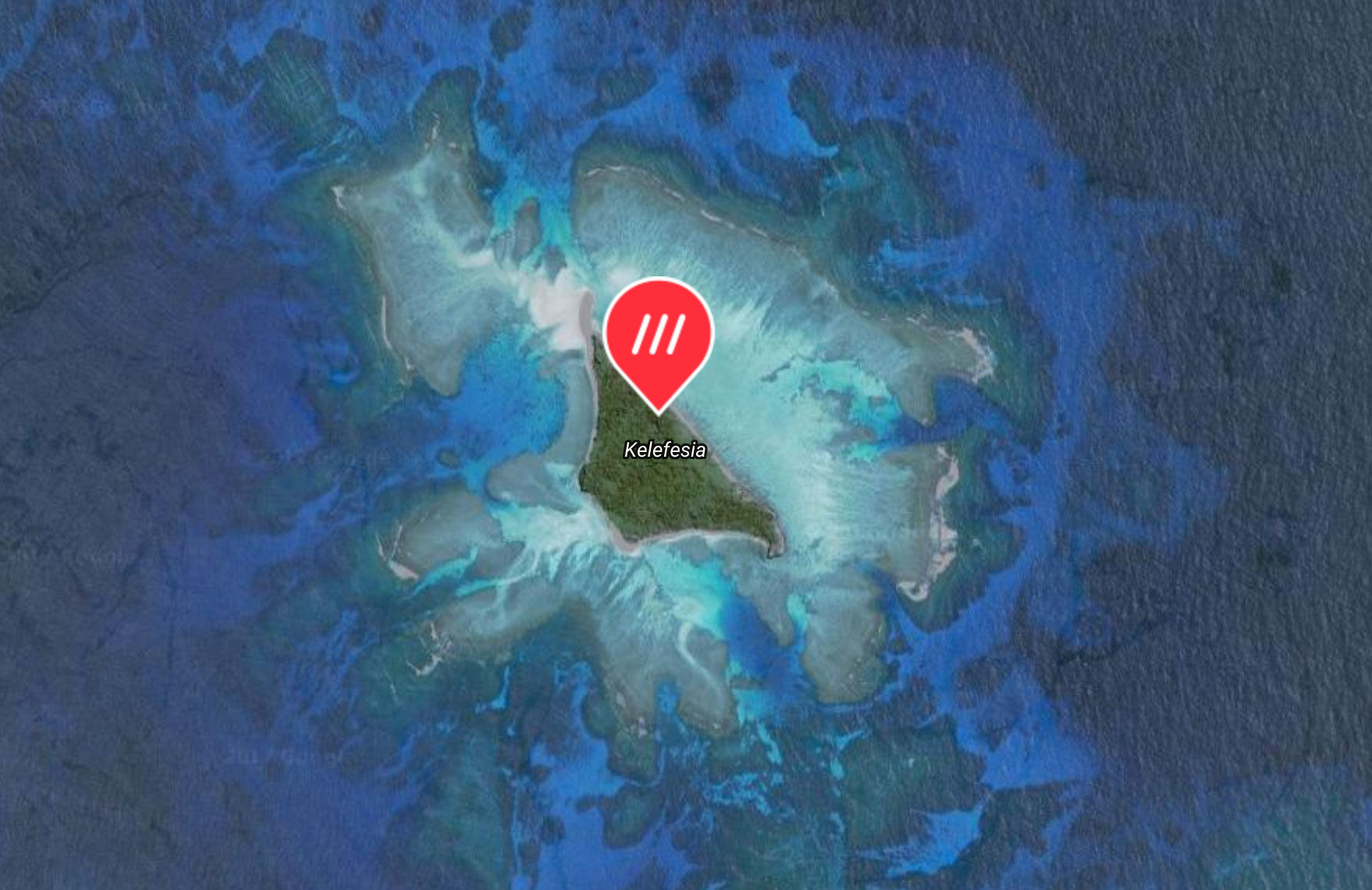 The tiny Tongan island of Kelefesia has no roads, but now it has addresses.