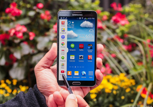Samsung's Galaxy Note 3 helped it win 29 percent of the mobile phone market.